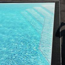 Schwimmbecken mit Überlauf