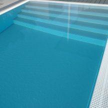 Polypropylenschwimmbecken mit Überlauf