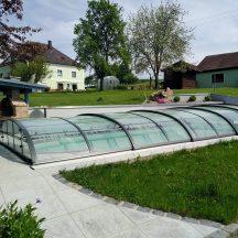 Schwimmbeckenüberdachun