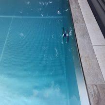 Edelstahlschwimmbecken