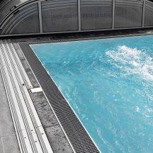 Bauvorbereitung Schwimmbeckenüberdachung