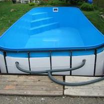 Schwimmbadqualität